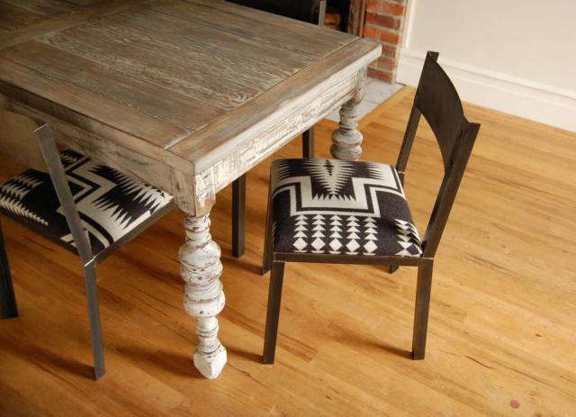 Superb Above: The Dining Chair, In A Different Choice Of Pendleton Wool  Upholstery. Image Via Brackish Designs.