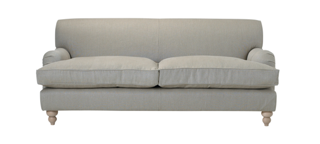 Above: The Philip Timings Oswald Flax Linen Sofa Is £3,185 From The Conran  Shop.