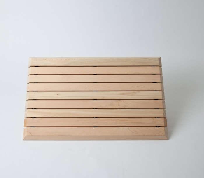 10 Easy Pieces Wooden Bath Mats Remodelista
