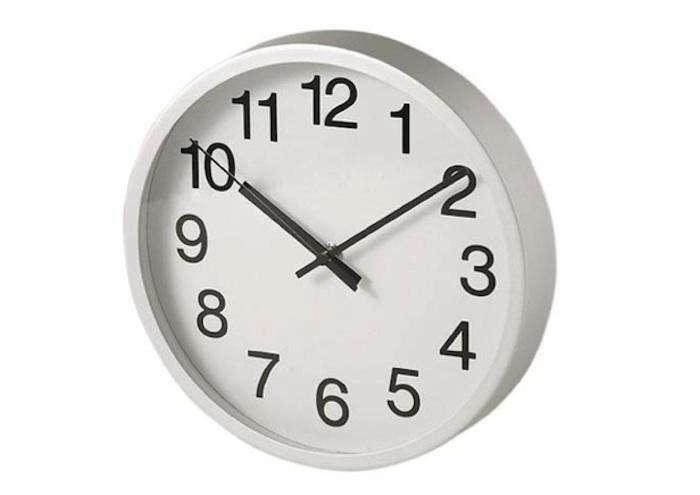10 Easy Pieces: Simple Kitchen Clocks