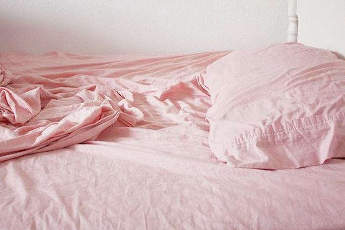 rose jersey sheets