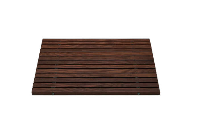 10 easy pieces wooden bath mats - Teak Bath Mat