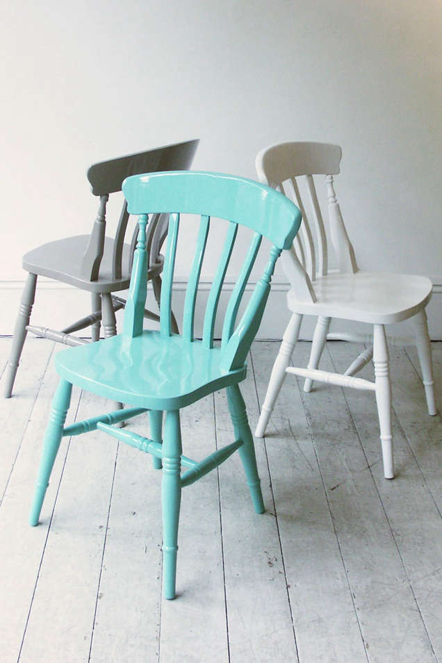 High/Low: Painted Windsor Chairs