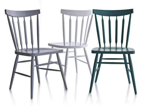 High Low Painted Windsor Chairs Remodelista