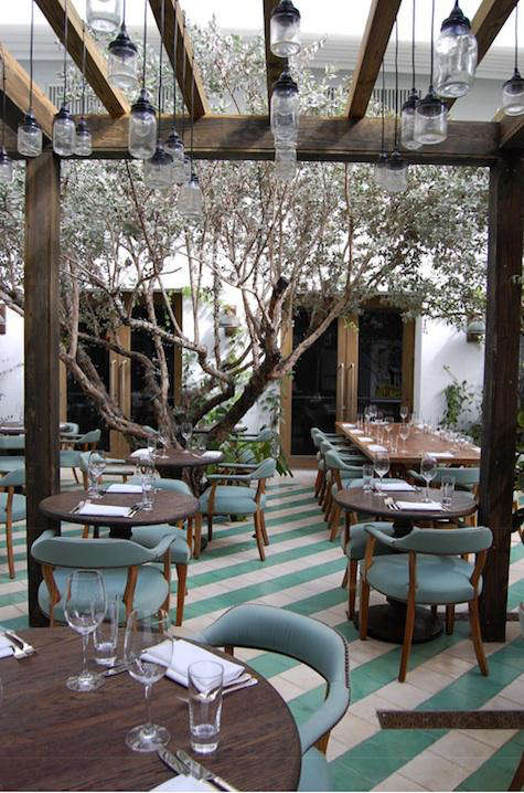 ... Mason Jar Light At Omega Too); We Especially Like Them As Outdoor  Lighting, As Seen In The Outdoor Dining Courtyard At Cecconiu0027s Miami Beach  At The ...