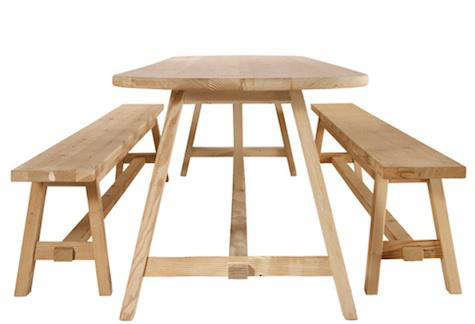 10 Easy Pieces Modern Dining Tables And Benches Remodelista