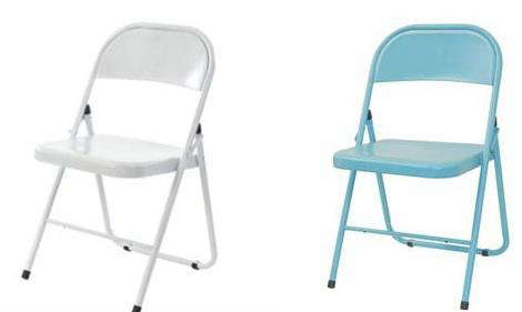 Perfect for extra seating the colorful folding metal American Chair from the Conran Shopu0027s well-priced Well Considered Line is available in turquoise ...  sc 1 st  Remodelista & Furniture: America Chair from the Conran Shop - Remodelista