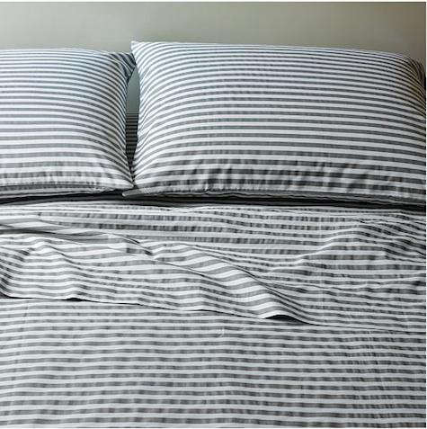 Fabrics And Linen Striped Sheets From West Elm Remodelista