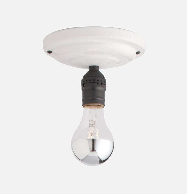 Beautiful Above: The Defiance Light Fixture Is $99 From Schoolhouse Electric.