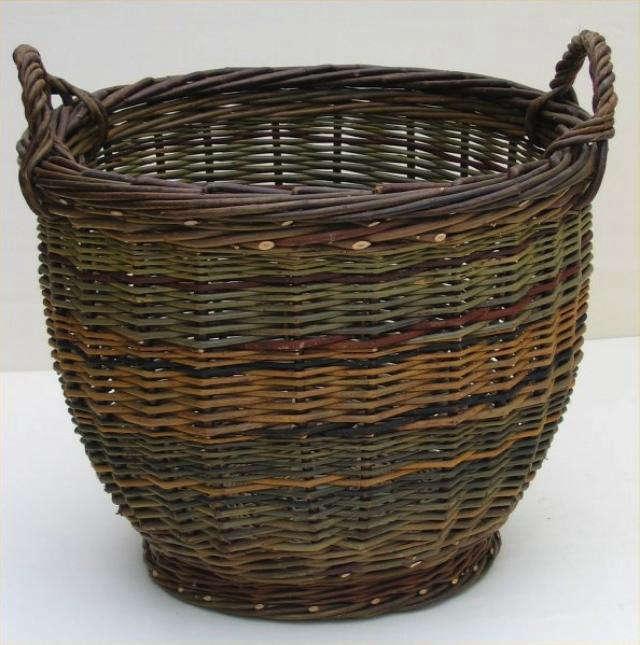 simple willow baskets by joe hogan remodelista. Black Bedroom Furniture Sets. Home Design Ideas