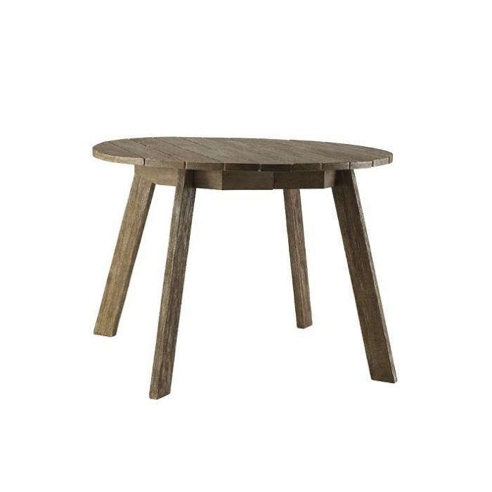 10 Easy Pieces: Round Wood Outdoor Tables