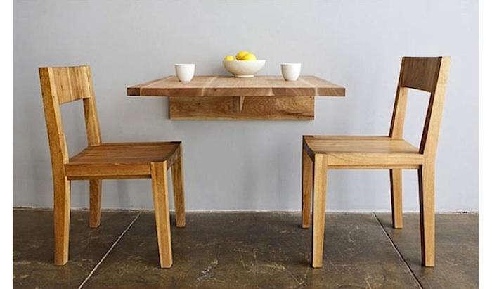 5 favorites wall mounted space saving furniture remodelista. Black Bedroom Furniture Sets. Home Design Ideas