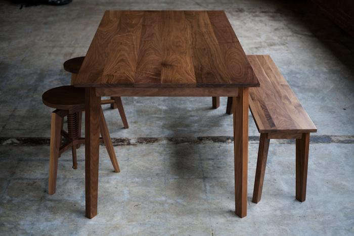 Japanese Inspired Furniture Intended Above The Solid Quartersawn White Oak And Steel Desk Is 510 Japaneseinspired Furniture From Hedge House Remodelista