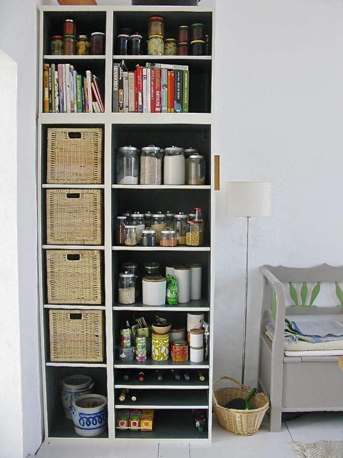 Diy Dramatic Kitchen Shelves On A Dime