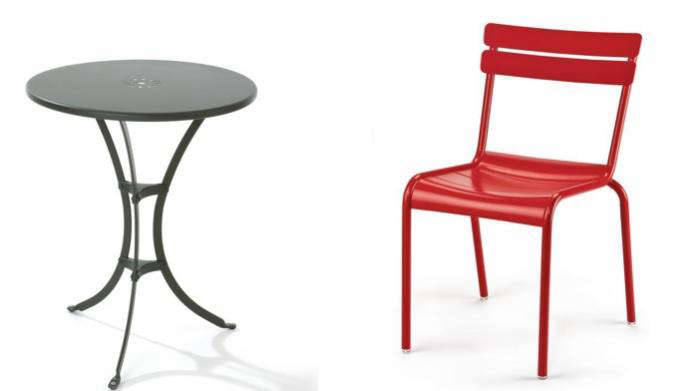 10 Easy Pieces  Outdoor Bistro Tables for Two  With Chairs 10 Easy Pieces  Outdoor Bistro Tables for Two  With Chairs  . Metal Cafe Chairs Sale. Home Design Ideas