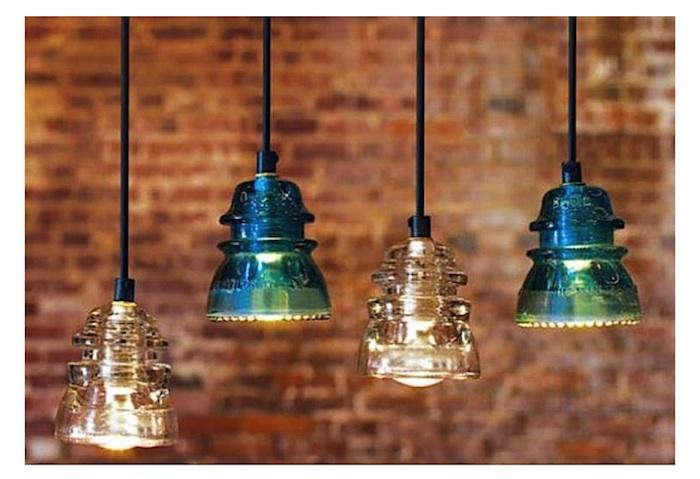 Antiques Amp Vintage Industrial Glass Lighting Remodelista