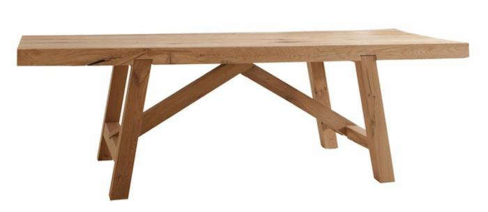 Above: Terence Conran Designed The Oscar Trestle Table; £3,395 At The  Conran Shop UK. (N.B. Need A Dining Bench To Go With It? See These 10 Easy  Pieces.)