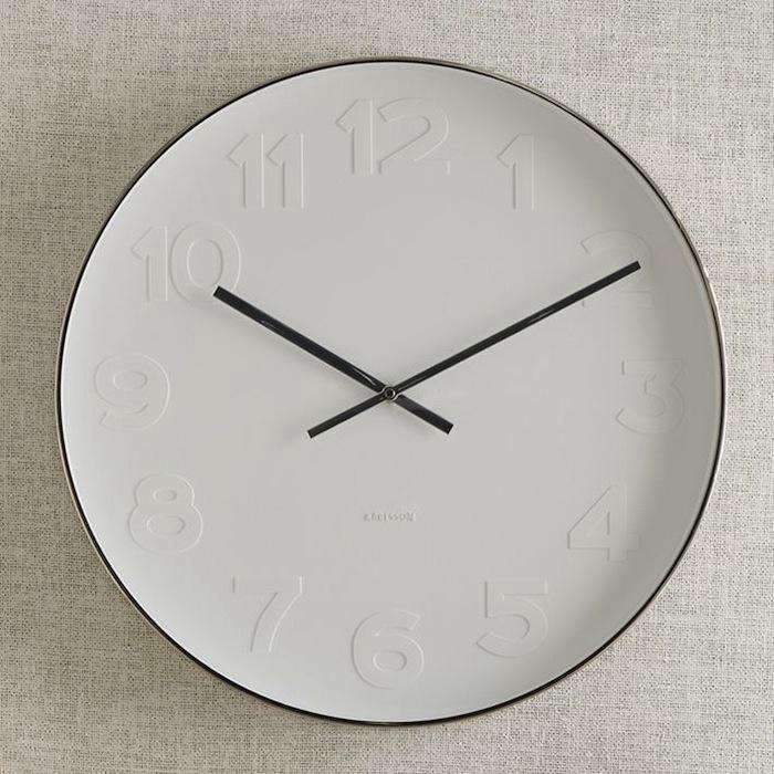For More White Clock Inspiration See Design Sleuth Kitchen Clocks