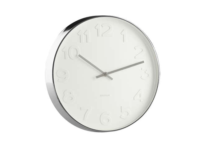 max bill modern office wall clock. 10 Easy Pieces: Simple Kitchen Clocks Max Bill Modern Office Wall Clock
