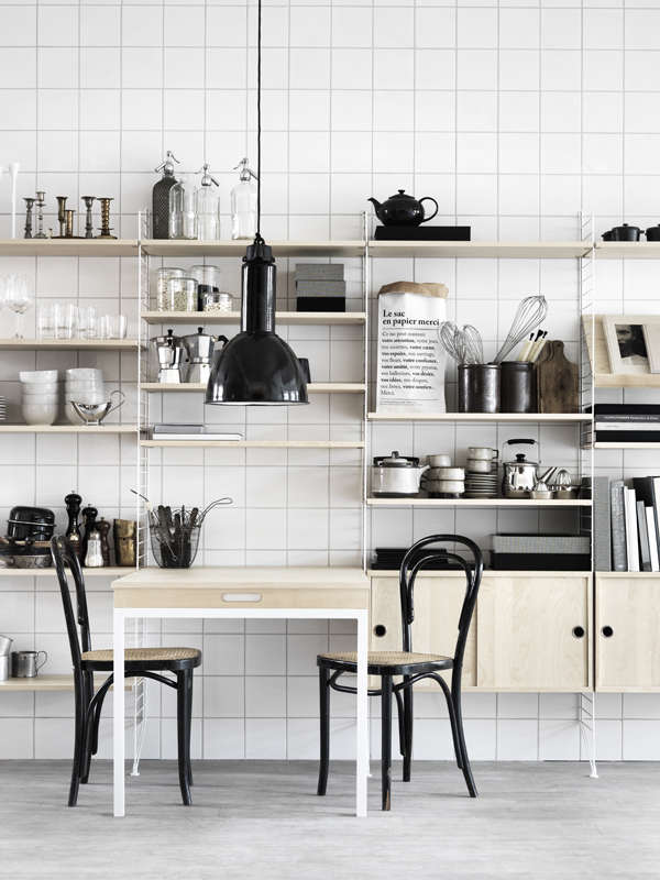 Cool Kitchen Of The Week The Classic String Swedish Kitchen Short Links Chair Design For Home Short Linksinfo