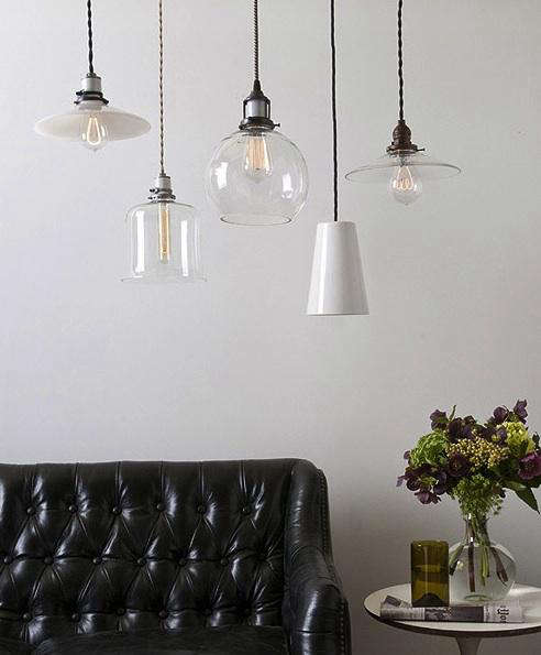 lighting new glass opal and porcelain shades from schoolhouse
