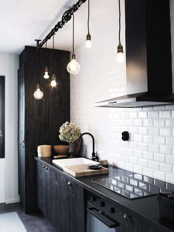 High/Low Black Kitchen Faucet - Remodelista