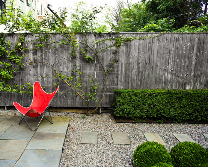 Steal This Look Modern Brooklyn Backyard On A Budget Remodelista - Townhouse patio