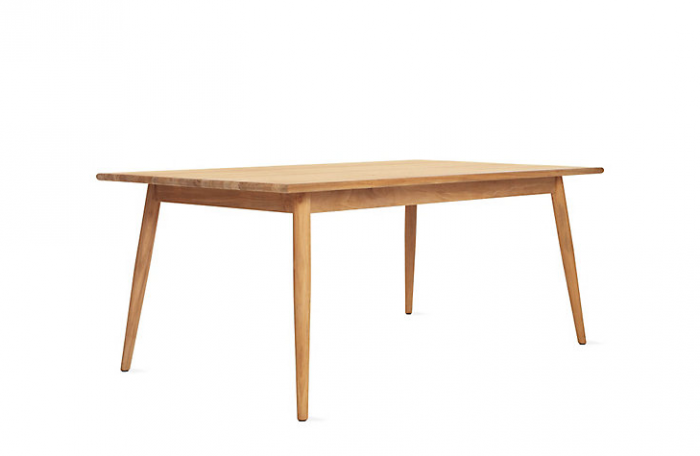 10 Easy Pieces Simple Wooden Outdoor Dining Tables  : 700700 verden rectangular dining table from www.remodelista.com size 700 x 456 png 113kB
