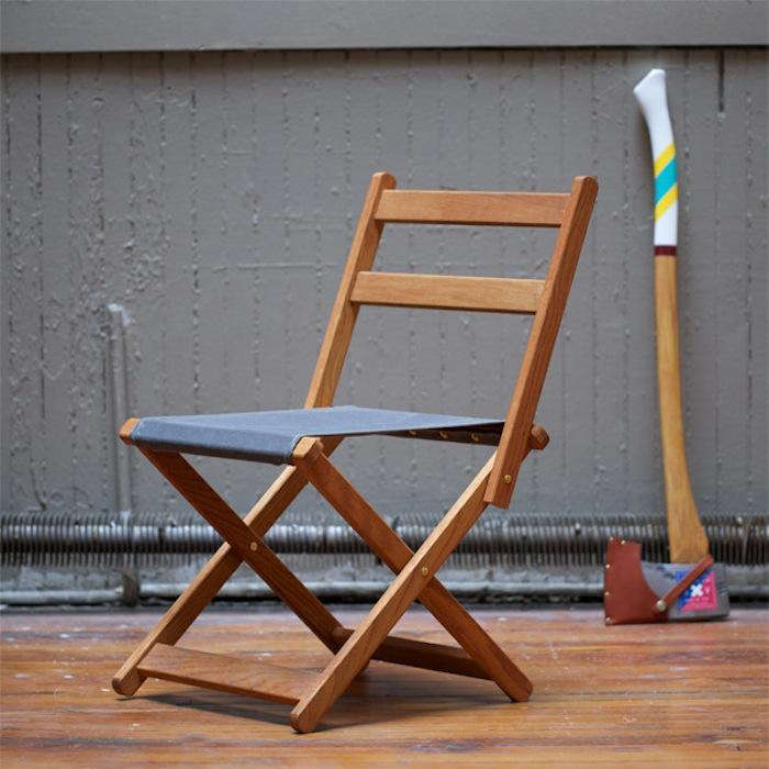 Bon Above: Our Go To Designers For Camp Wares, Best Made Co. Have Created The Camp  Chair From Solid White Oak And Duck Canvas, All Reinforced With Solid Brass  ...