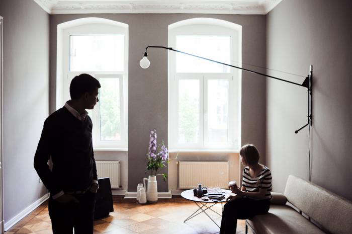 watch 79e0d 21f53 5 Favorites: Prouvé-Inspired Swing Arm Lights - Remodelista