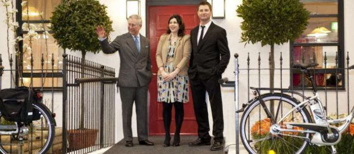 Prince Charles at the opening of the 2012 Ideal Home show.
