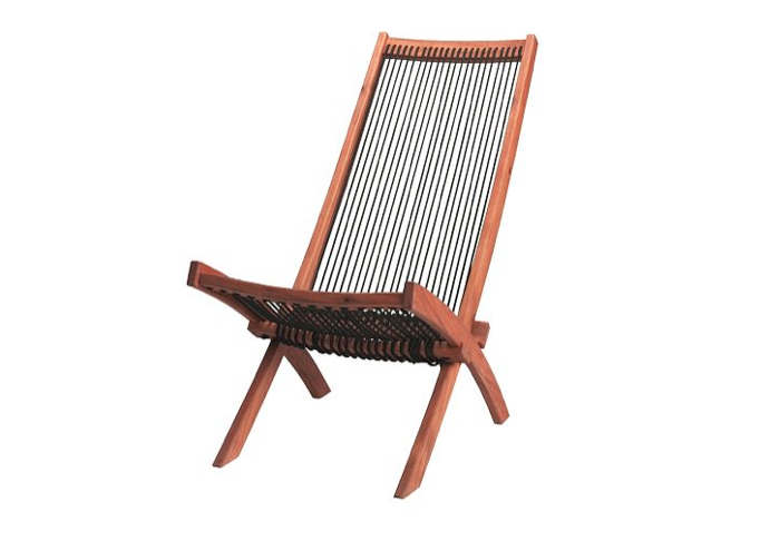Above: For Outdoor Seating, Julie Likes The Well Priced Brommo Folding Deck  Chair, Made From Acacia Wood And Polypropylene Rope; $59.99 At Ikea.