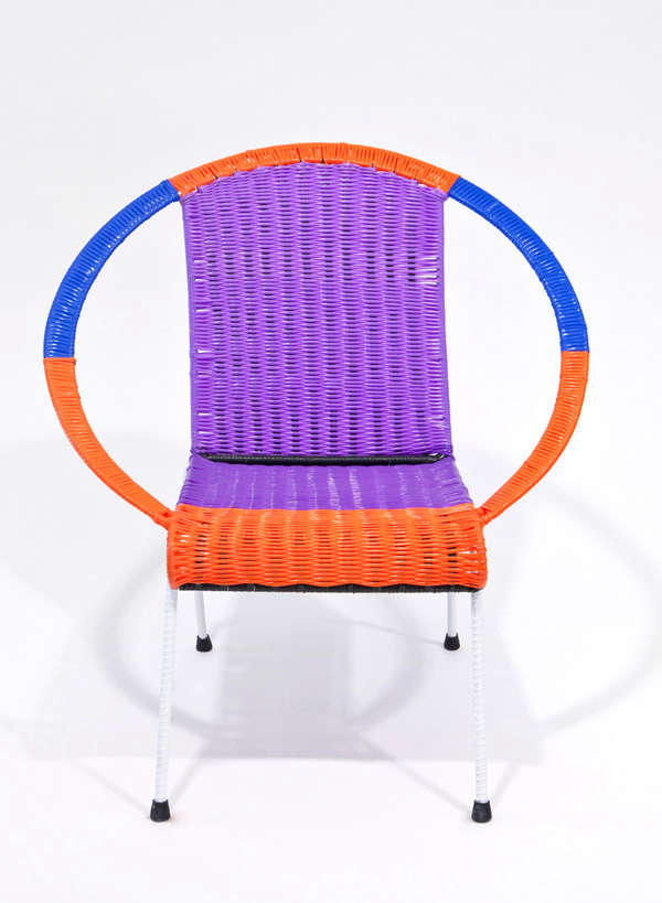 Fashion Forward: Color Block Outdoor Chairs From Marni