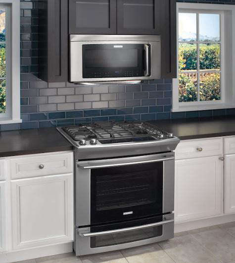 Above: The Electrolux Range Includes A Multitude Of Innovate Features,  Including Luxury Glide® Oven Racks With A Ball Bearing System, Which Means  The Oven ...