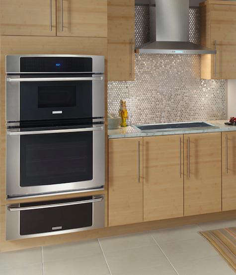 Wall Oven With Microwave Above: Appliances: Electrolux Over The Range Microwave Oven Combo
