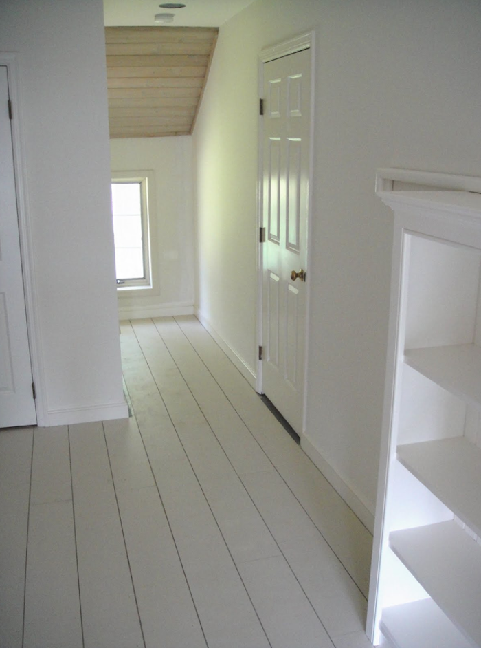 Steal This Look White Painted Floors From Frugal