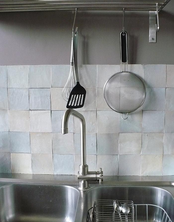 Glazed Kitchen Tile : Design sleuth glazed hand cut moroccan tiles remodelista