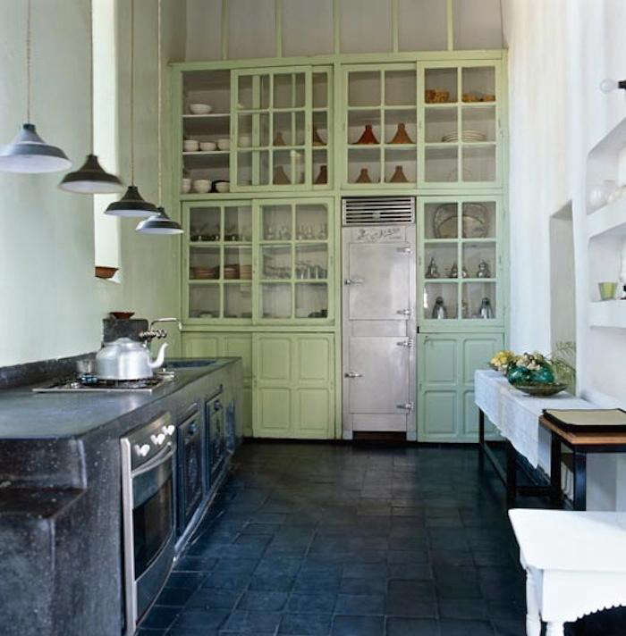 Mint Green Kitchen Paint: Color Love: Riad Charai In Morocco