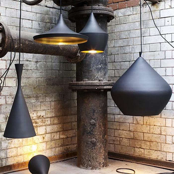 Past Meets Present: Modern Hammered Pendant Lights