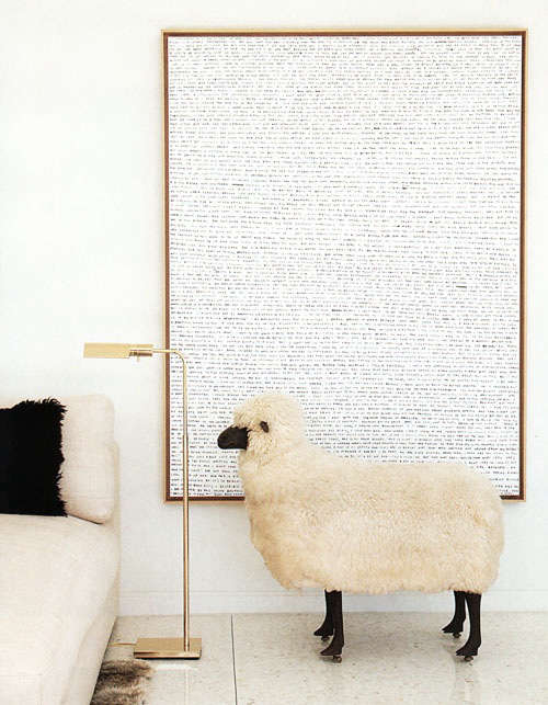 Design Sleuth Lalannes Style Sheep As Decor