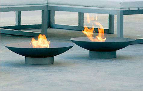 Backyard Fire Bowl 10 easy pieces: outdoor fire pits and bowls - remodelista