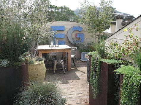San Francisco Where Mullins Uses Layering Techniques To Make The Most Out Of A Small E See More Her Work Go Growsgreen Landscape Design