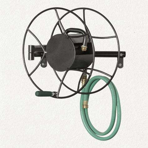 ... Of Containing A 100 Foot Long Hose. The Reel Swivels 180 Degrees In  Either Direction, Making It Easy To Maneuver Around The Garden; $178 At  Terrain.