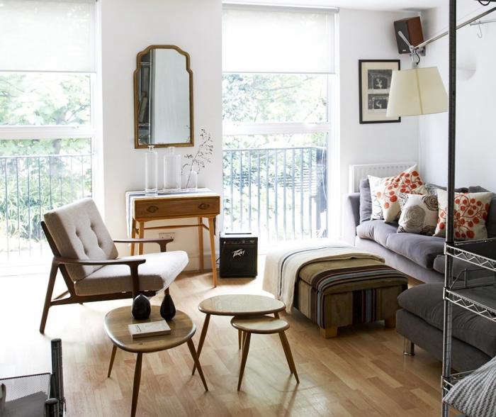 Christine 39 s house living small in london remodelista - Deco appartement vintage ...