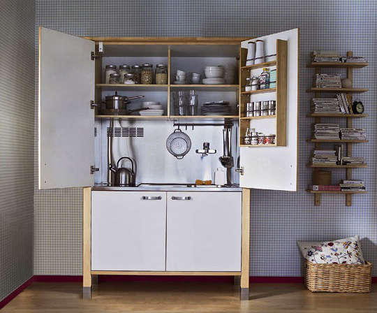Exceptionnel Above: A Mini Kitchen Created With Varde Components From Ikea.