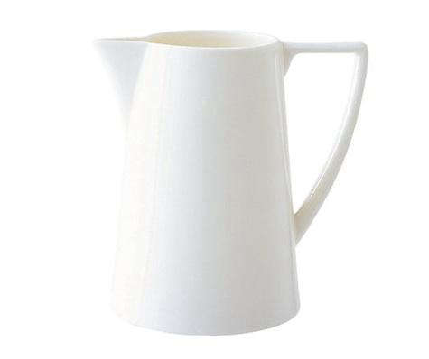 Above Sarah Swears By Uk Designer Jasper Conran S Clean Lined China White Pitcher Part Of His Collection For Wedgwood 66 99 At