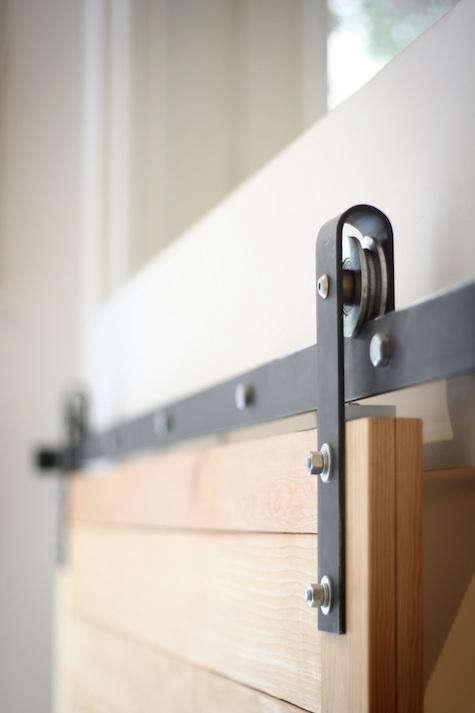 Design Sleuth Flat Track Barn Door Hardware Remodelista
