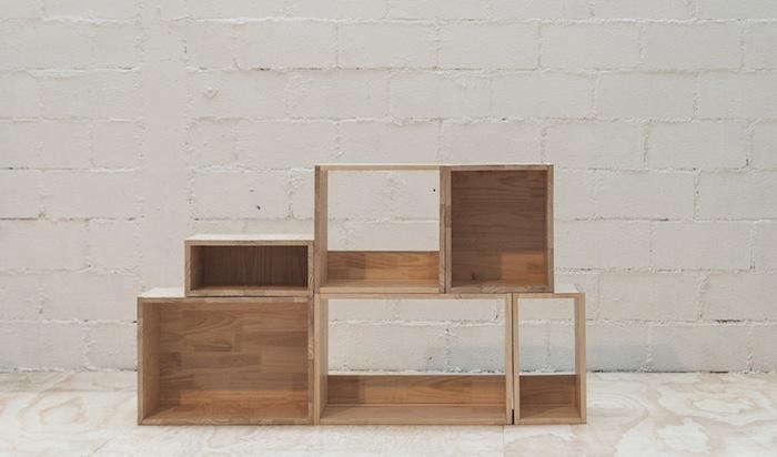 Charming Above: The Módulos (modular Furniture) Starts At 22,000 CLP, Depending On  Size.