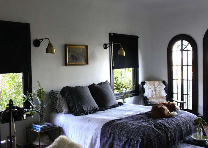 Design Sleuth Noirish La Bedroom Remodelista