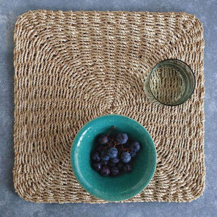 5 Favorites Natural Fiber Placemats For Summer Dining